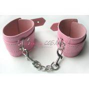 Наручники розового цвета